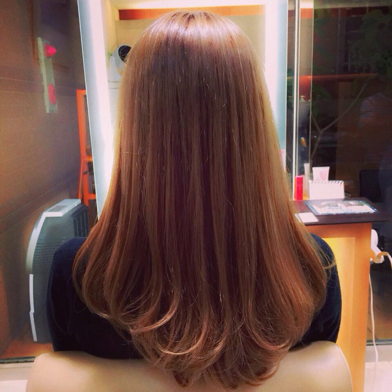 フェミニンな髪色でモテを目指す!ピンクアッシュでつくるスウィートヘア Taku Yokose