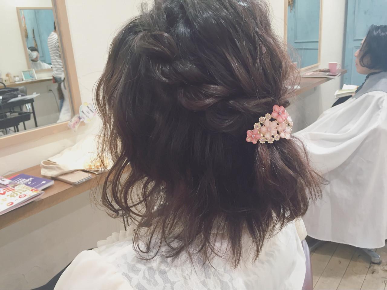 2018年の成人式はこのスタイルで決まり!一生に一度だからこそこだわりの髪型に miku☆