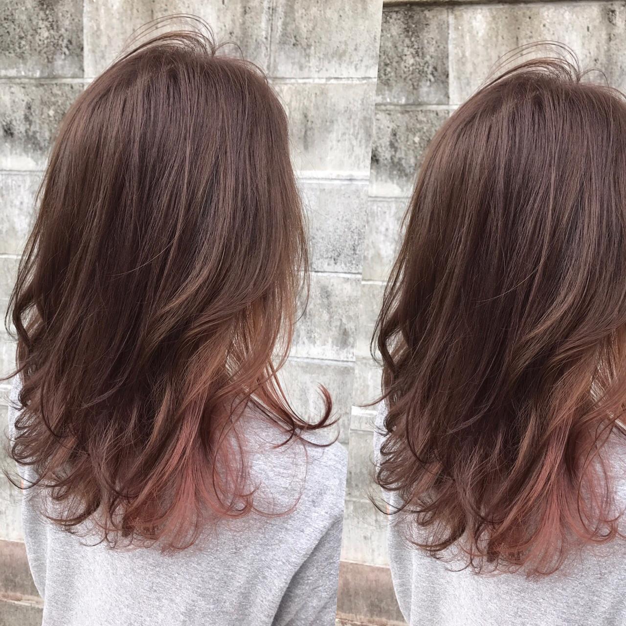 フェミニンな髪色でモテを目指す!ピンクアッシュでつくるスウィートヘア 高尾武志