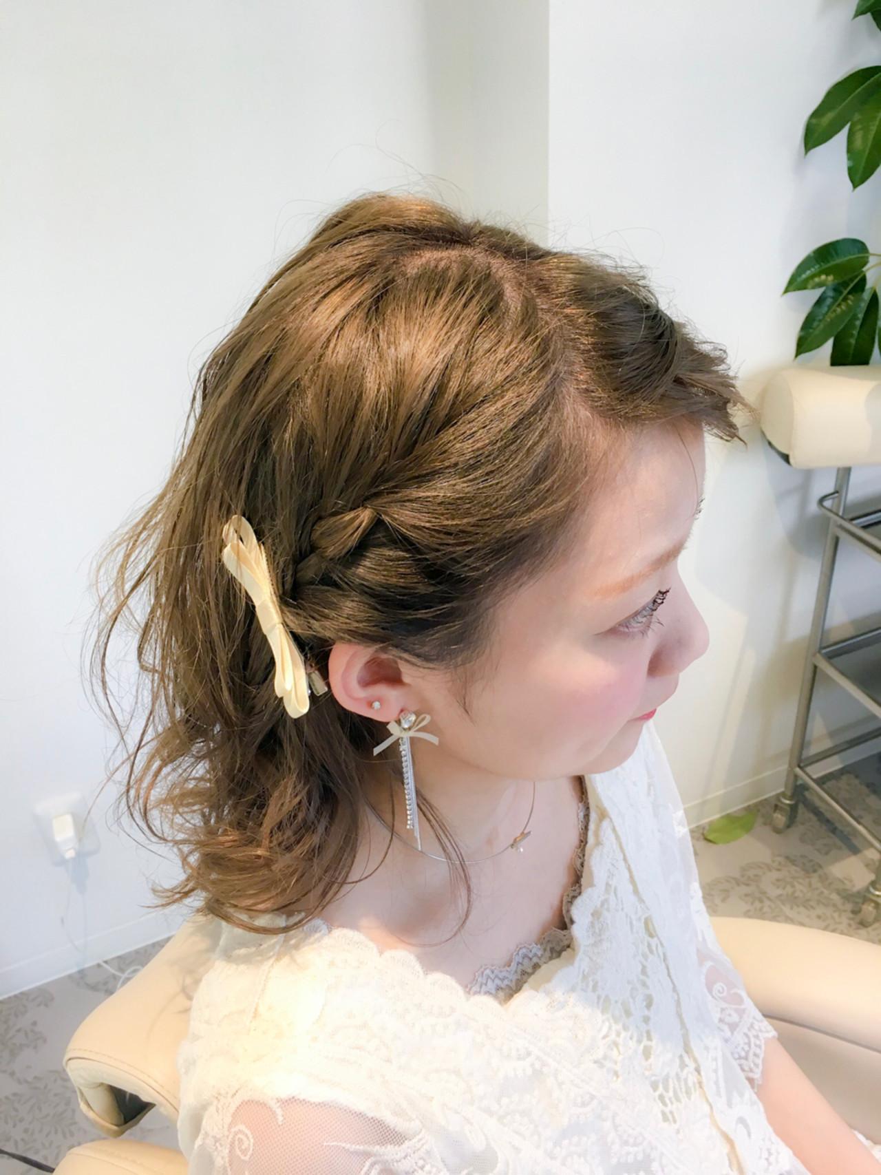 オフィス リラックス ナチュラル アウトドア ヘアスタイルや髪型の写真・画像