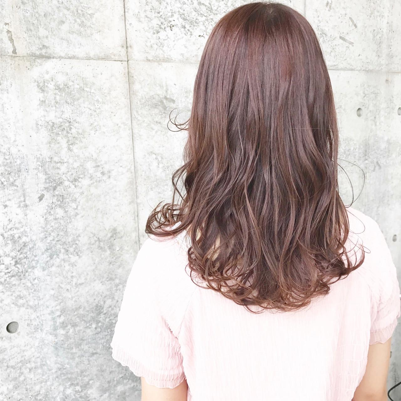 フェミニンな髪色でモテを目指す!ピンクアッシュでつくるスウィートヘア  Wataru Maeda