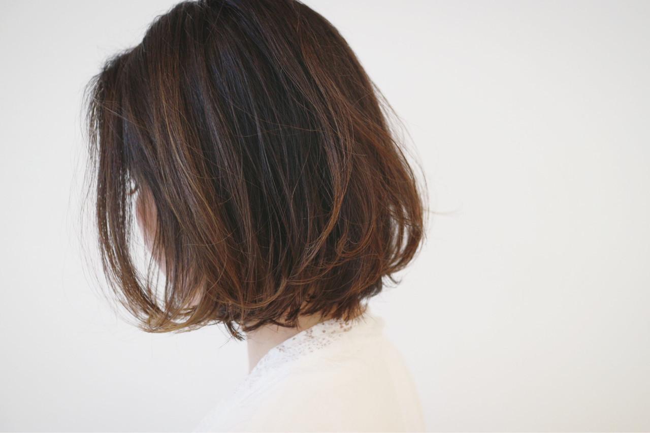 外国人風 パーマ オフィス グラデーションカラー ヘアスタイルや髪型の写真・画像