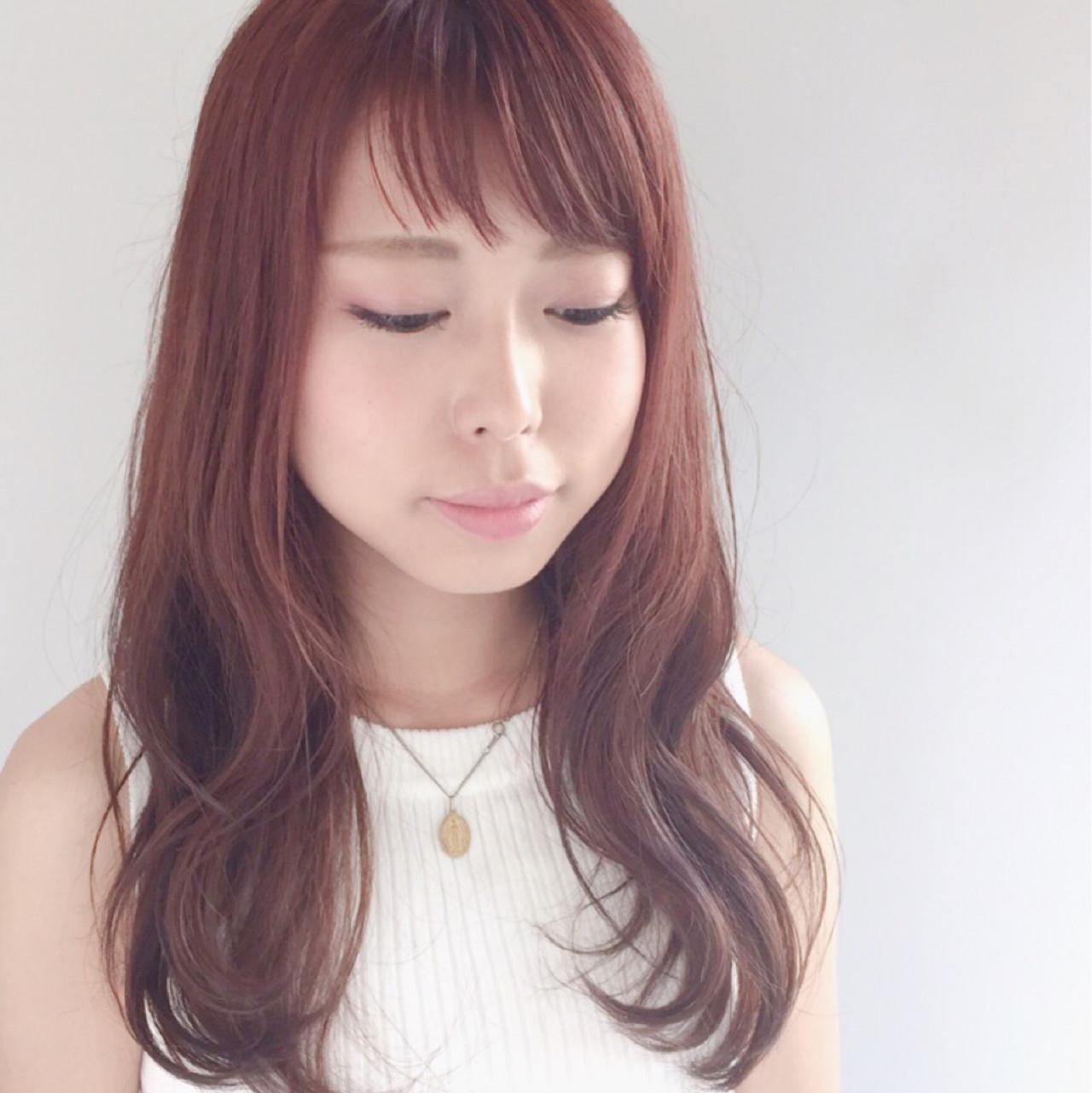 フェミニンな髪色でモテを目指す!ピンクアッシュでつくるスウィートヘア 横田 絵美