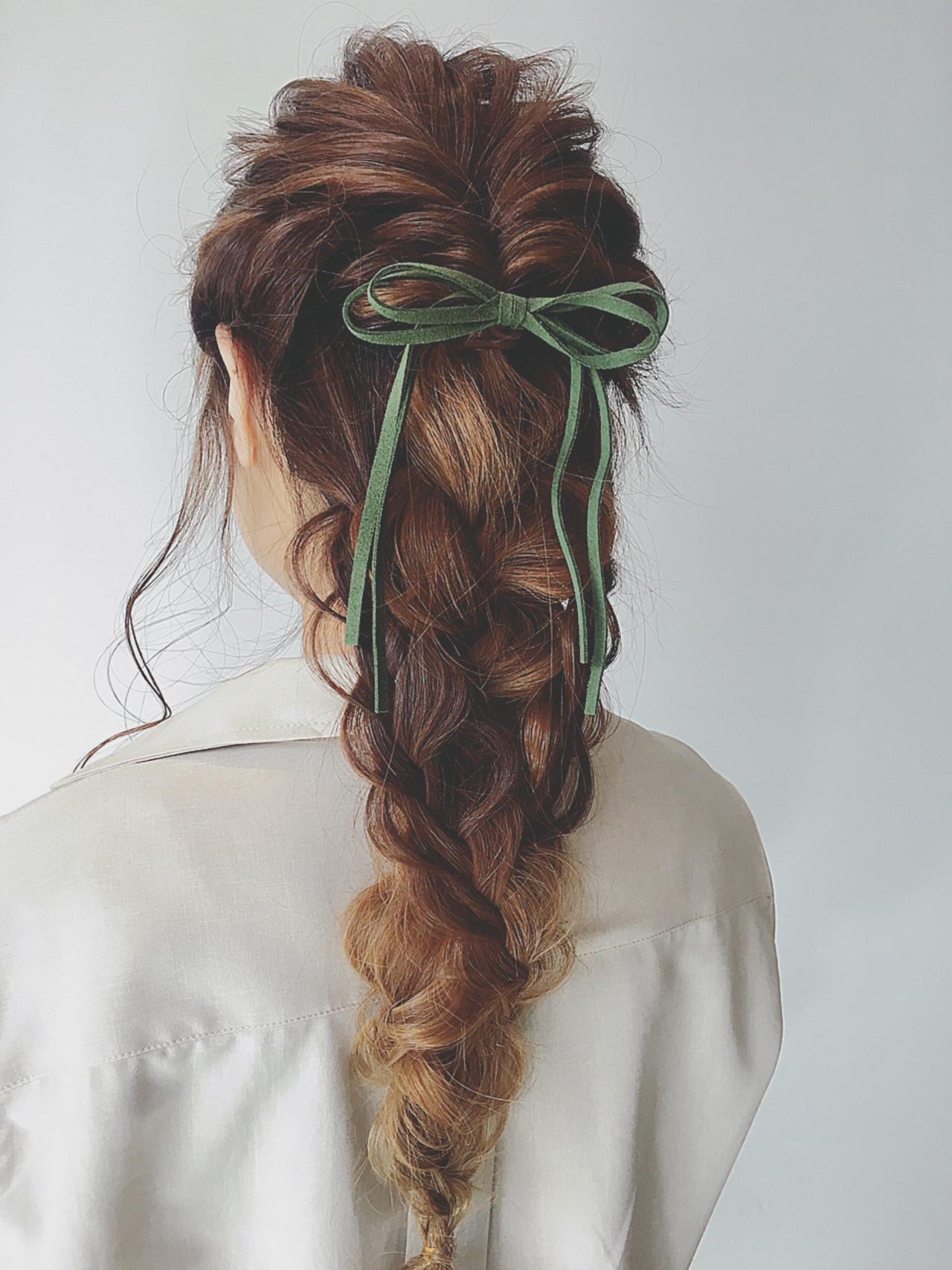 簡単なのに超かわいい♡くるりんぱを使った女子力高めな髪型アレンジ 鶴井  SORA 広尾