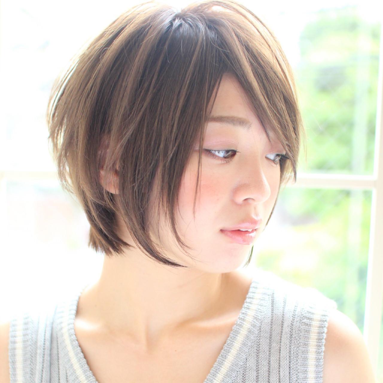 フェミニン オフィス アッシュ リラックス ヘアスタイルや髪型の写真・画像