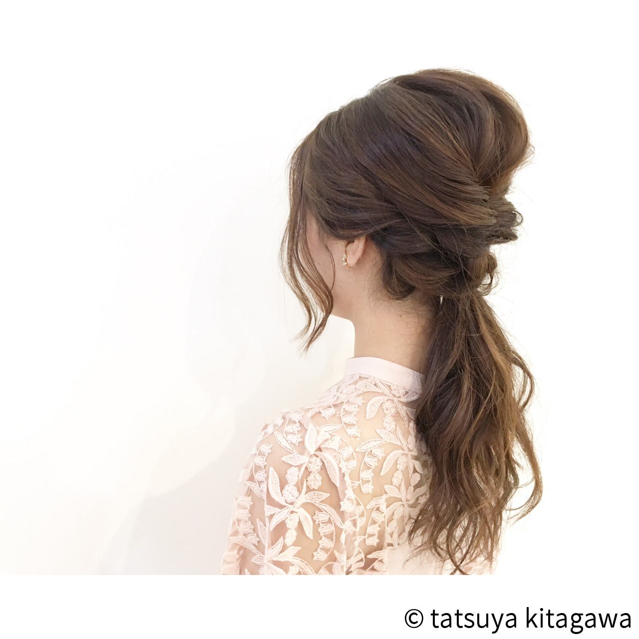 簡単なのに超かわいい♡くるりんぱを使った女子力高めな髪型アレンジ tatsuya kitagawa  COURARIR 京都駅前店