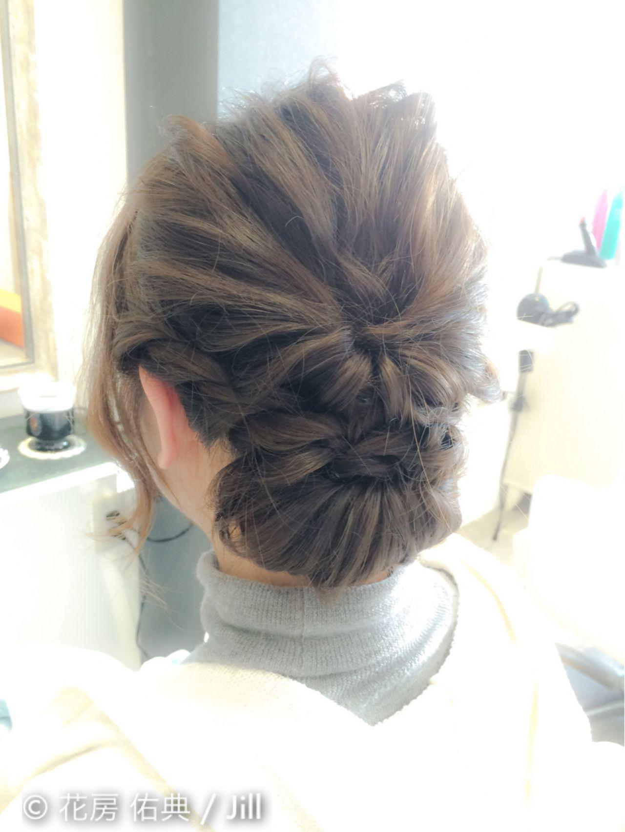 簡単なのに超かわいい♡くるりんぱを使った女子力高めな髪型アレンジ 花房 佑典 / Jill  Hair Design Jill