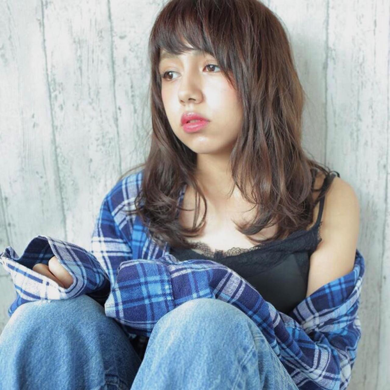 外国人風 ラフ ルーズ ストリート ヘアスタイルや髪型の写真・画像