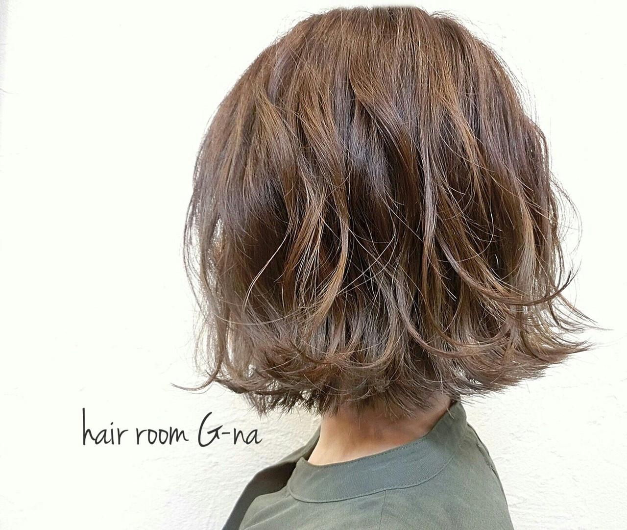 グラデーションカラー 大人かわいい ナチュラル グレージュ ヘアスタイルや髪型の写真・画像