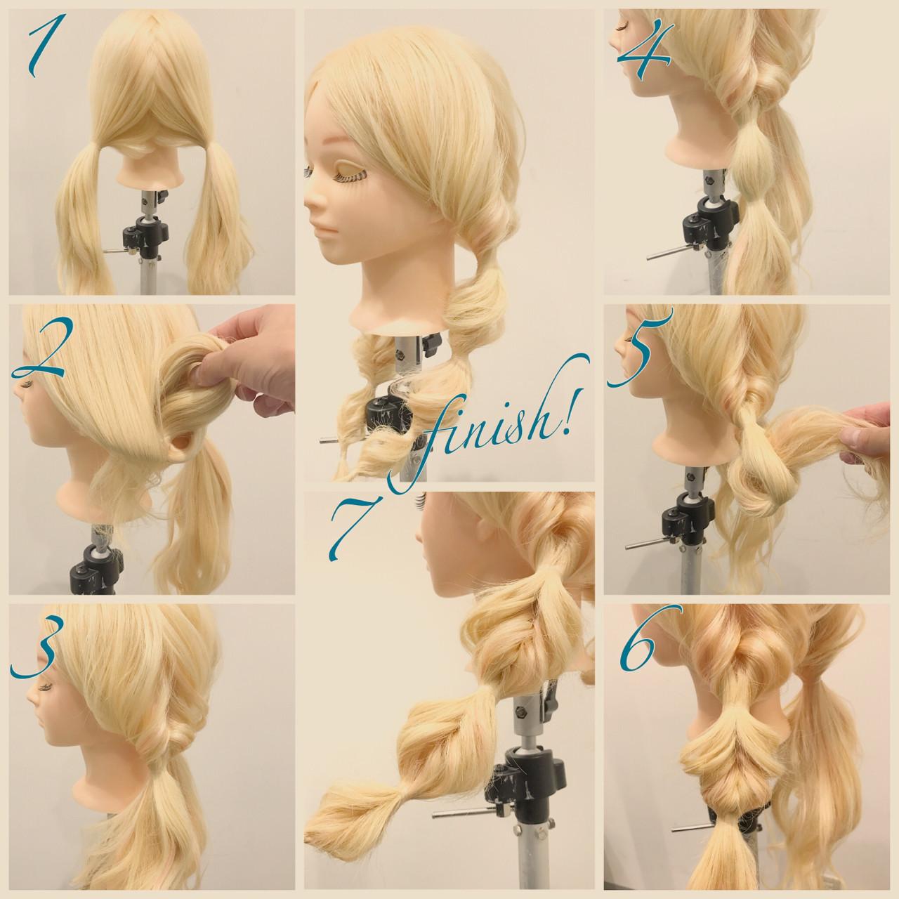 簡単なのに超かわいい♡くるりんぱを使った女子力高めな髪型アレンジ 斉藤尚  mod'shair高松瓦町店