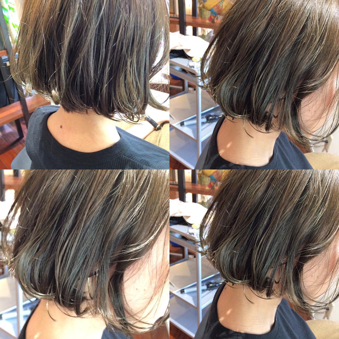 アッシュ ストリート 色気 暗髪 ヘアスタイルや髪型の写真・画像