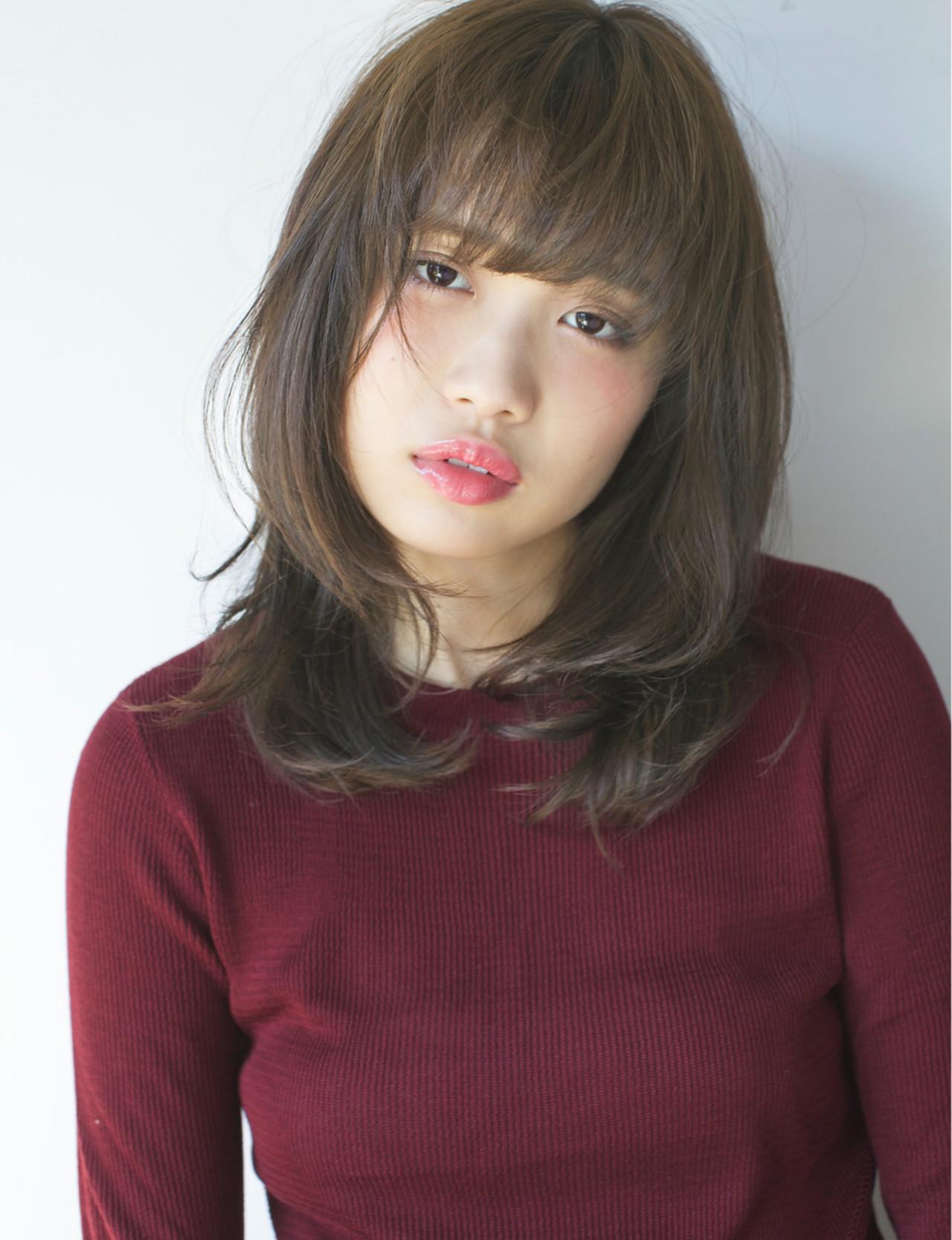ミディアム 簡単 ストリート 外国人風カラー ヘアスタイルや髪型の写真・画像