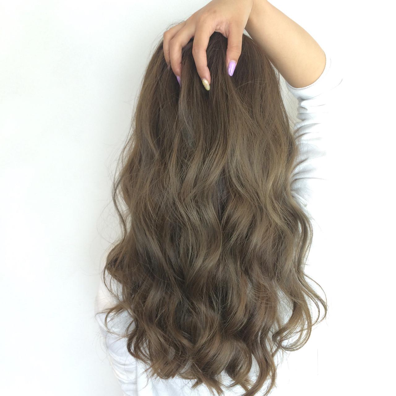 オリーブアッシュ ストリート アッシュ 大人かわいい ヘアスタイルや髪型の写真・画像