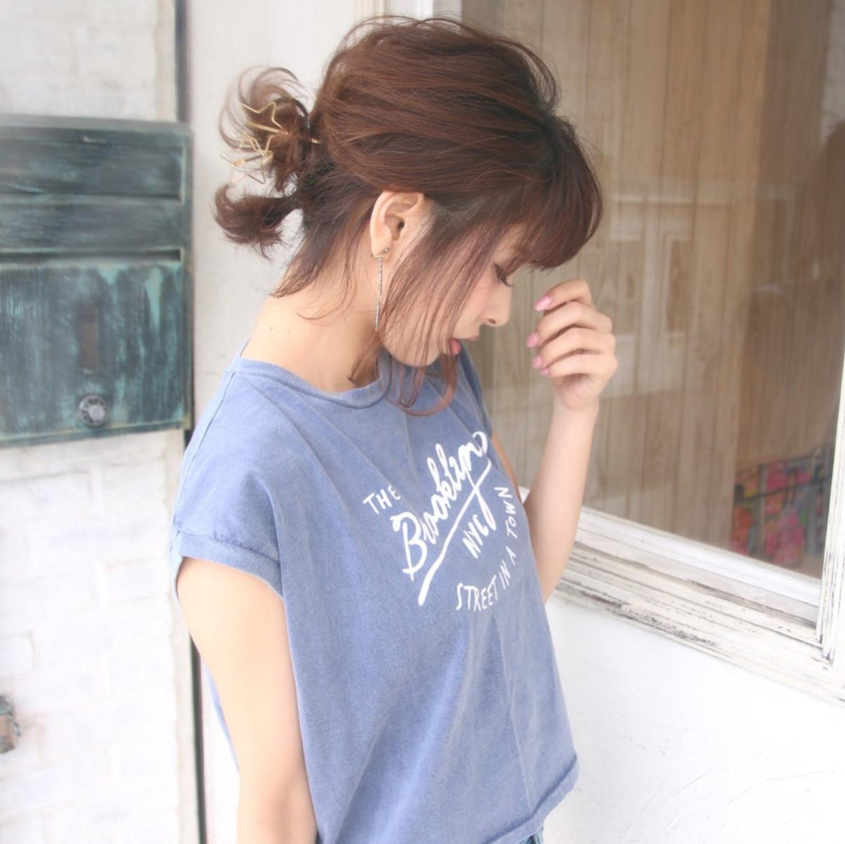 ショートヘアさんにおすすめ♡ちょこんとかわいいショートお団子スタイルとは?
