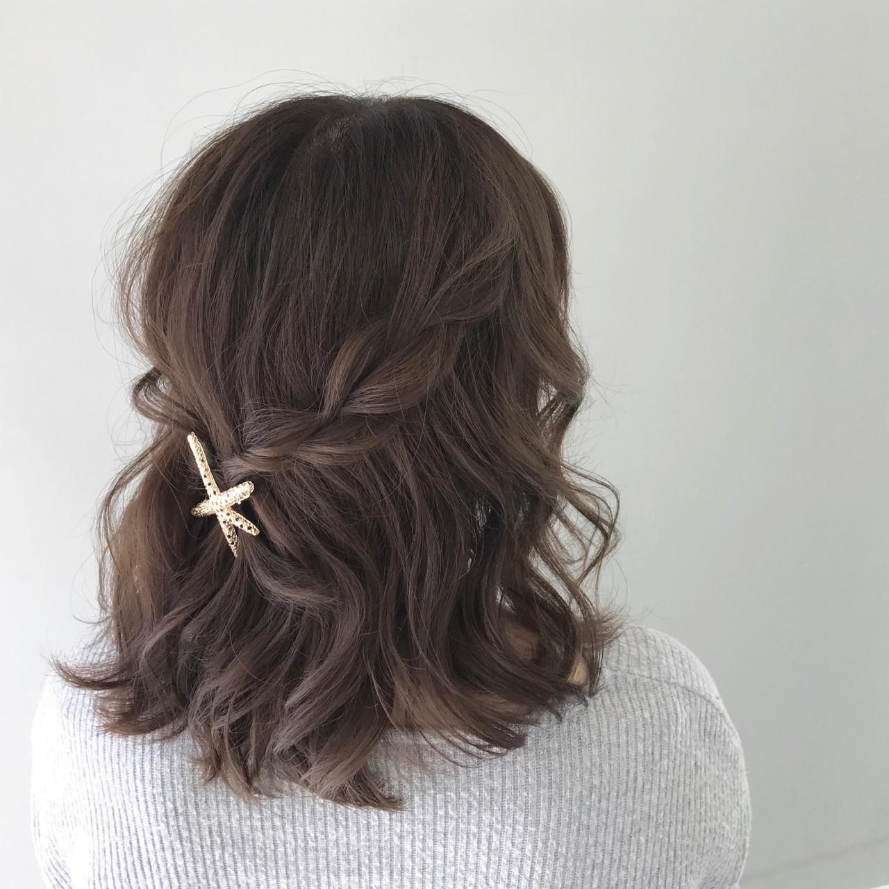 【簡単】可愛さ無限大な三つ編みヘアアレンジでこなれヘアに♡