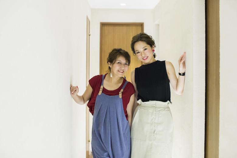 『道を継ぐ』の著者の佐藤友美さんとゲストのMichio Nozawa HAIR SALON Ginzaのスタイリスト・那須久美子さん