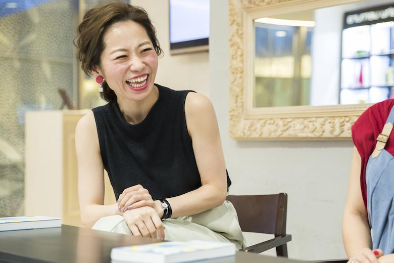 仕事とプライベートについて語る那須久美子さん
