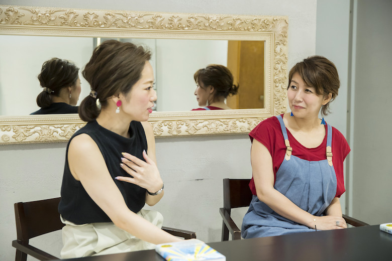 教育について語る那須久美子さん