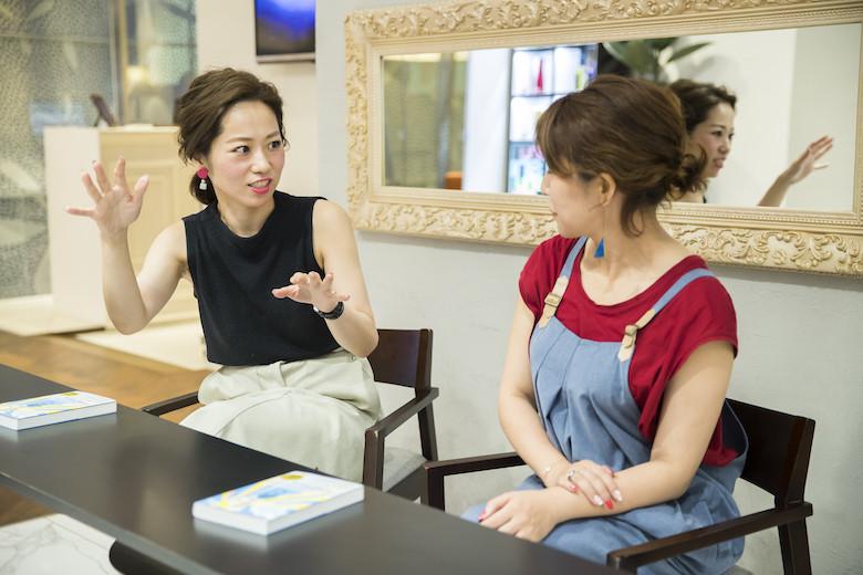 コミュニケーションについて語る那須久美子さん