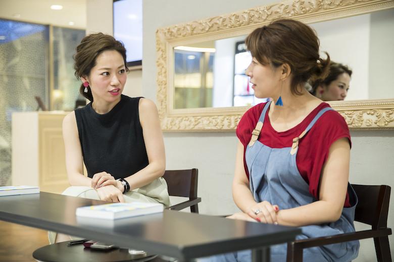 美容師になったきっかけを語る那須久美子さん