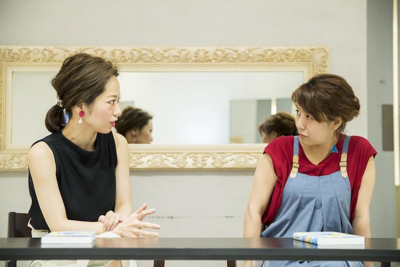 コンプレックスをプラスに変えることを話す那須久美子さん