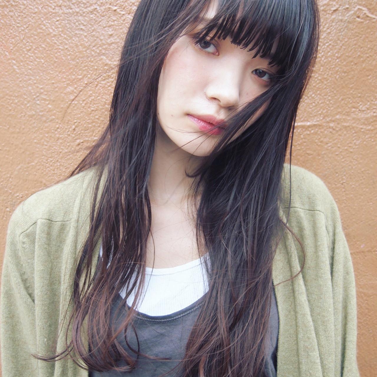 ロングヘアは清楚で上品な女性を演出 UEKI/nanuk | nanuk二子玉川