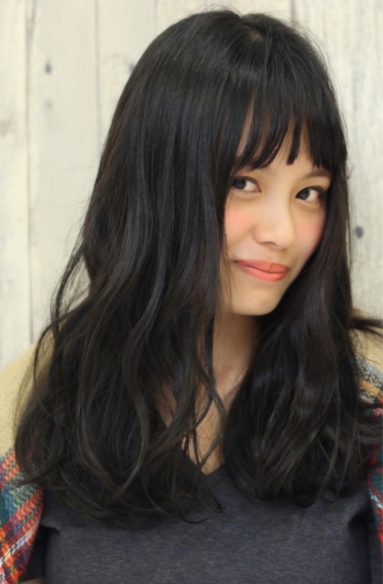 ちょっぴりウェーブが色っぽい♡小松菜奈風ヘア 中島 香