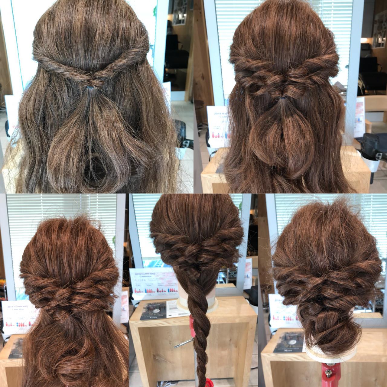 こって見える♪ナチュラルなまとめ髪スタイル YASU | hair salon M.plus ヨツバコ店 (ヘアーサロン エムプラス)