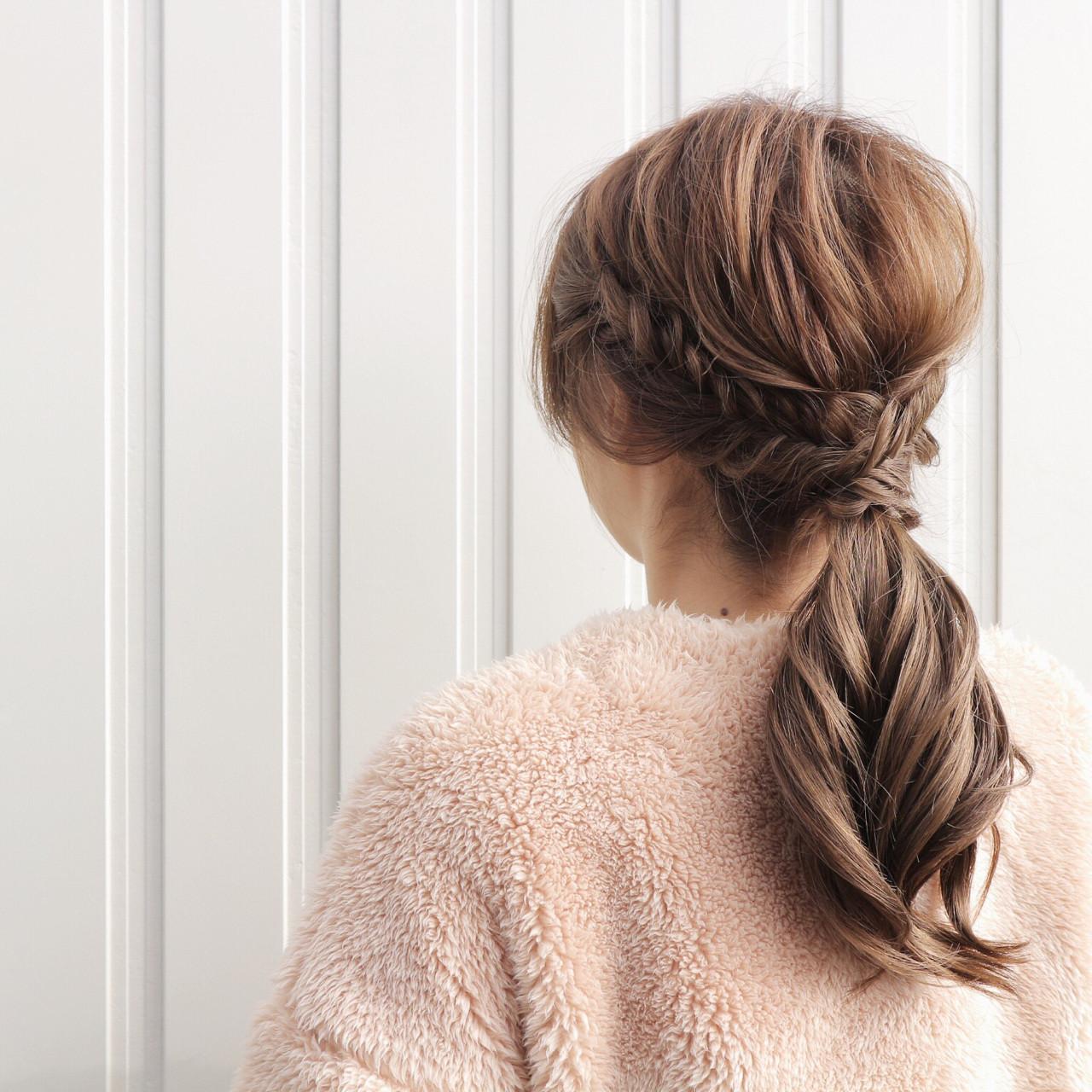 ストリート 大人女子 ロング ヘアアレンジ ヘアスタイルや髪型の写真・画像