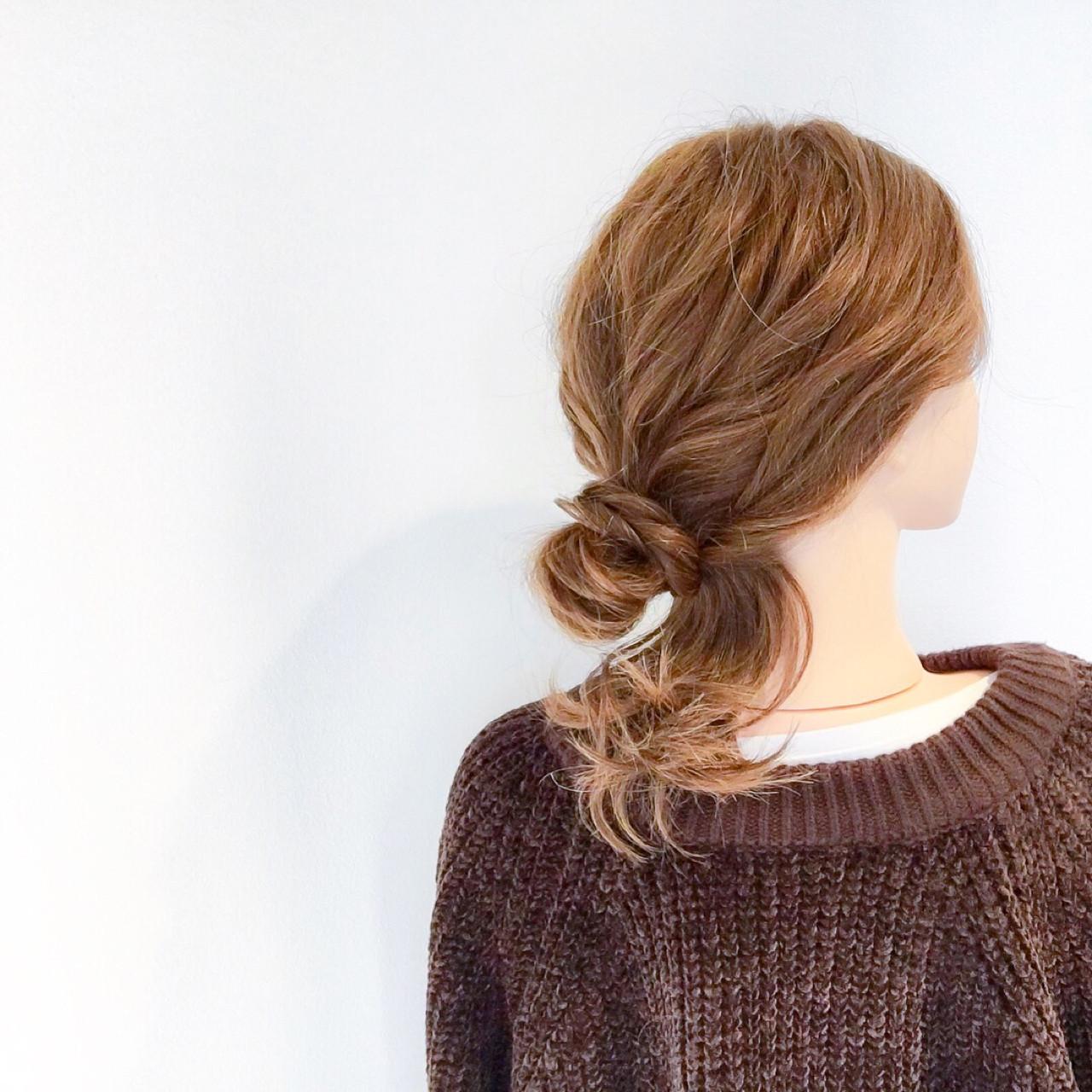 ルーズ感にテクいらず♪雑誌みたいな簡単ヘアアレンジ 美容師 HIRO | Amoute/アムティ