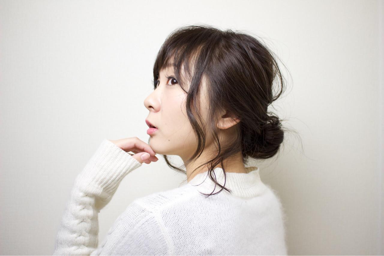 ゆったりシニヨンでルーズなまとめ髪♡ 渡辺 貴明 | Hair Salon FOCUS