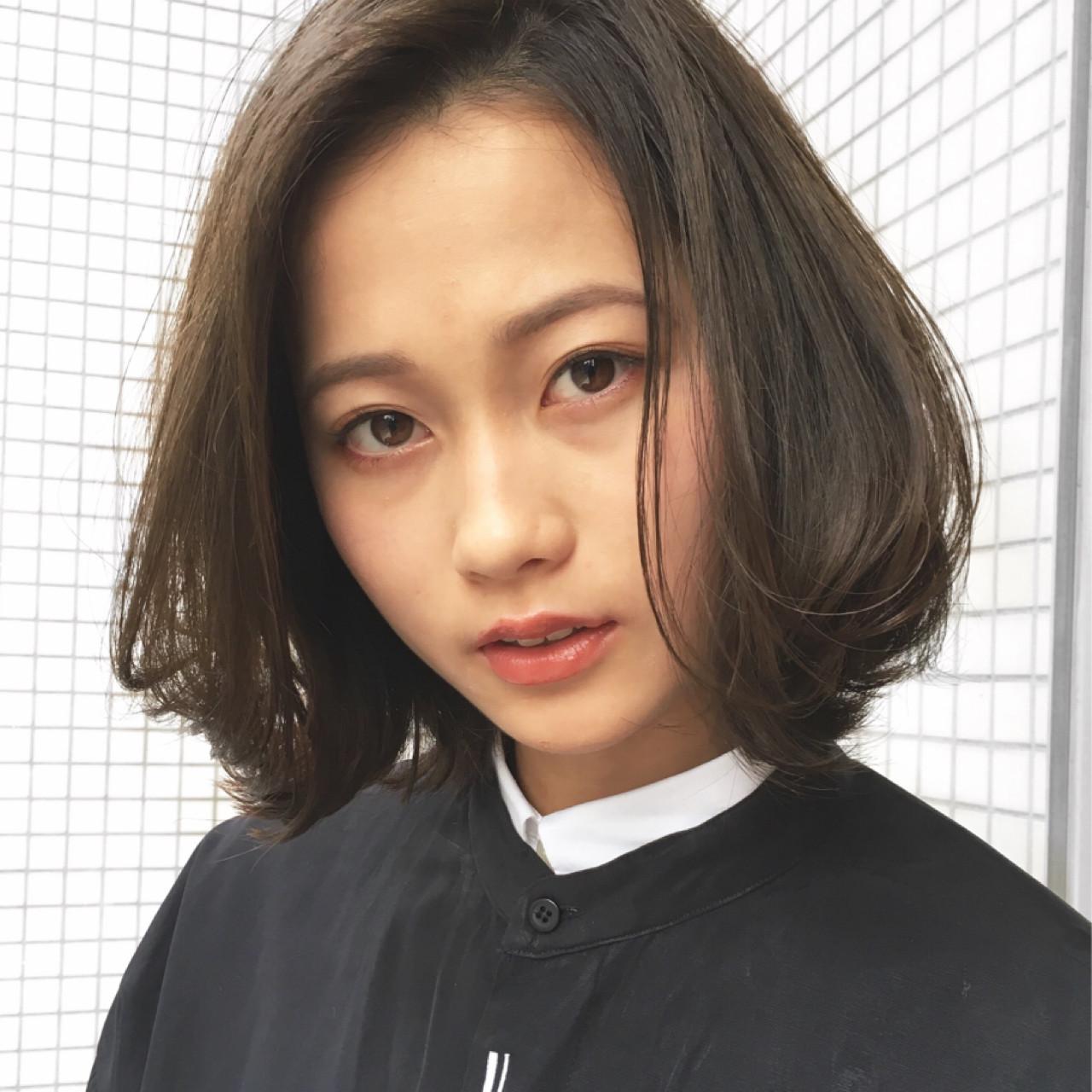 ベース型×ミディアムボブ+前髪なし 越後 裕介 (Yusuke Echigo) | mod's hair 仙台長町(モッズ・ヘア)