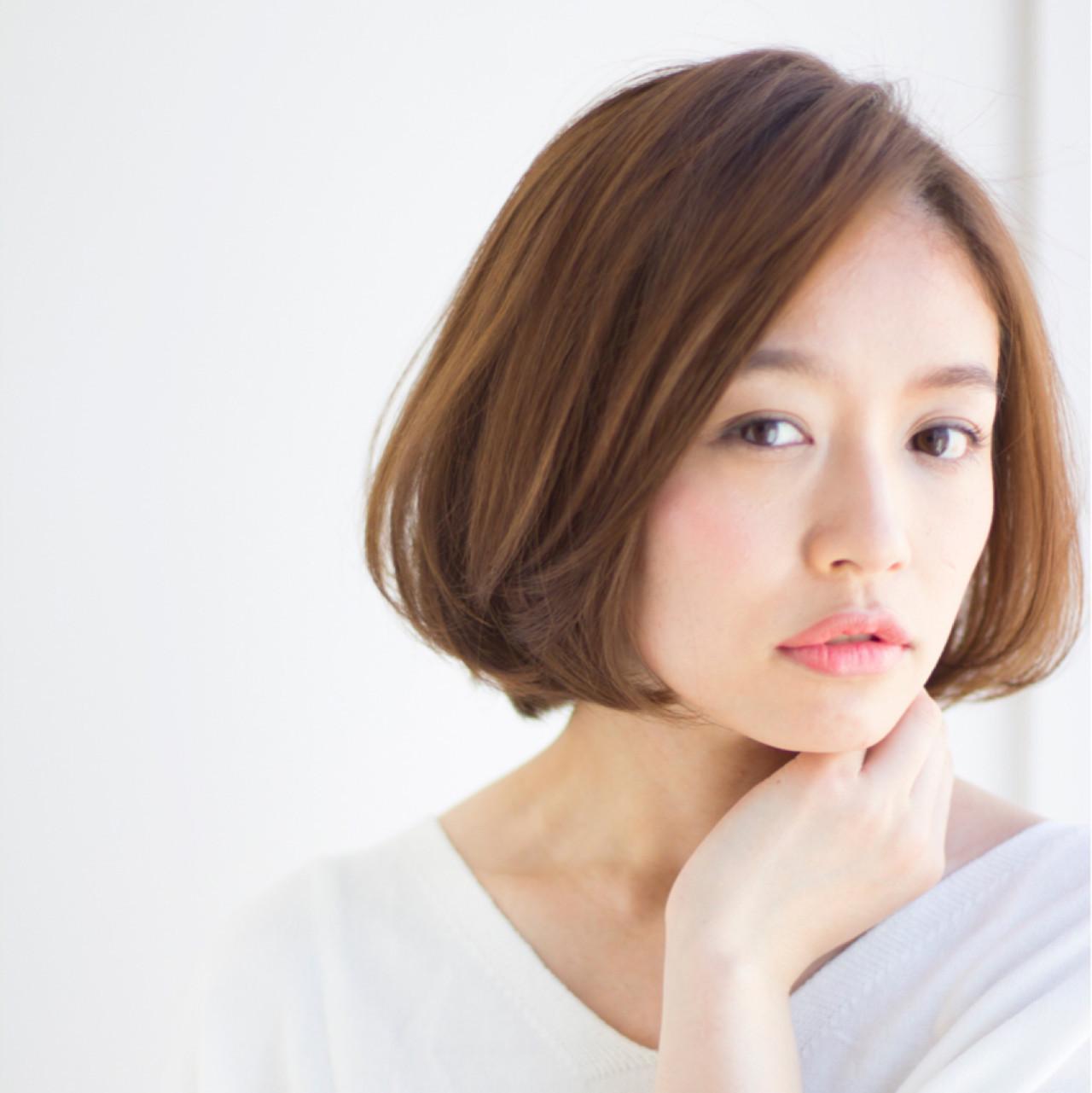 前髪長め&ひし形がポイント!丸顔×ショート 東 純平 | Ramie omotesando