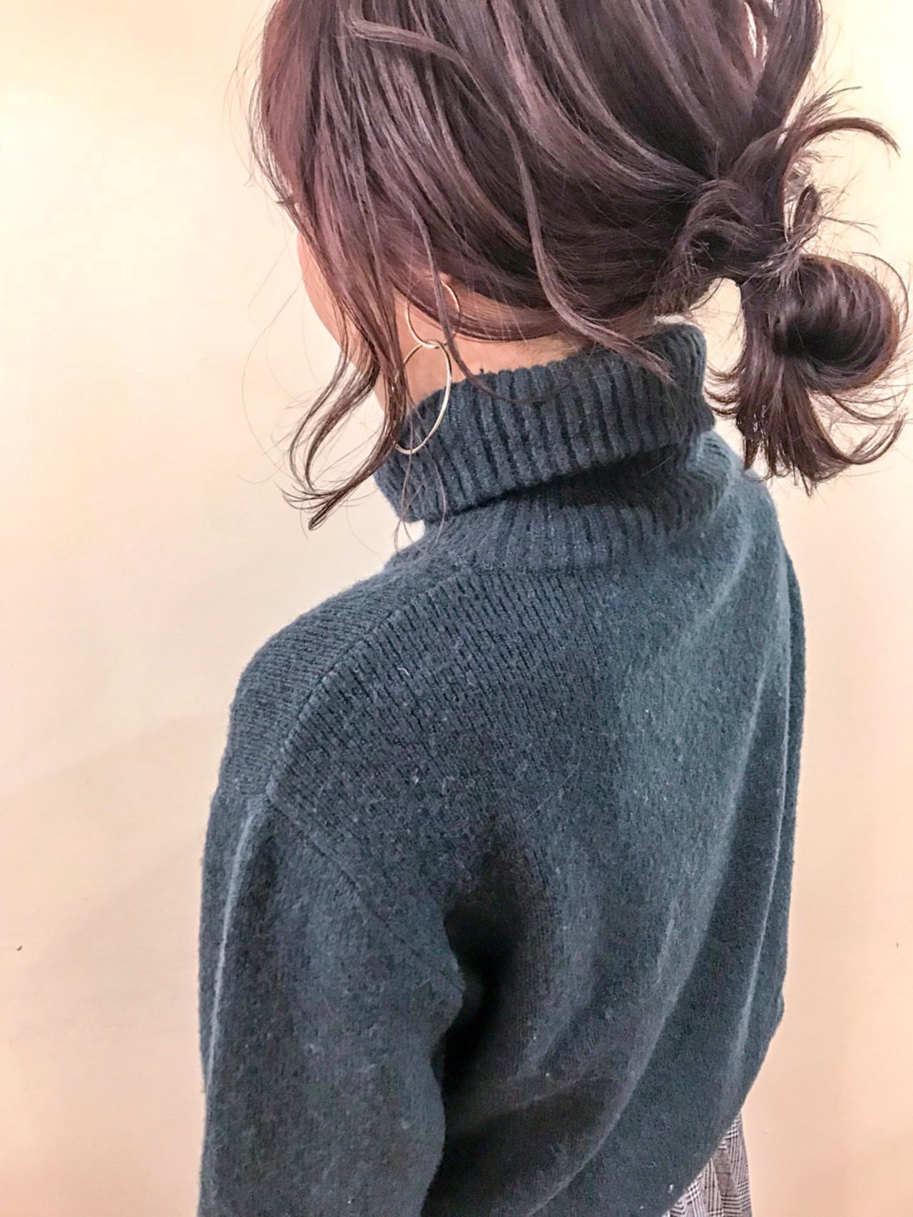 シニヨンはルーズな後れ毛とウェーブ感がおしゃれ yumiko/sapporoSKNOW | SKNOW