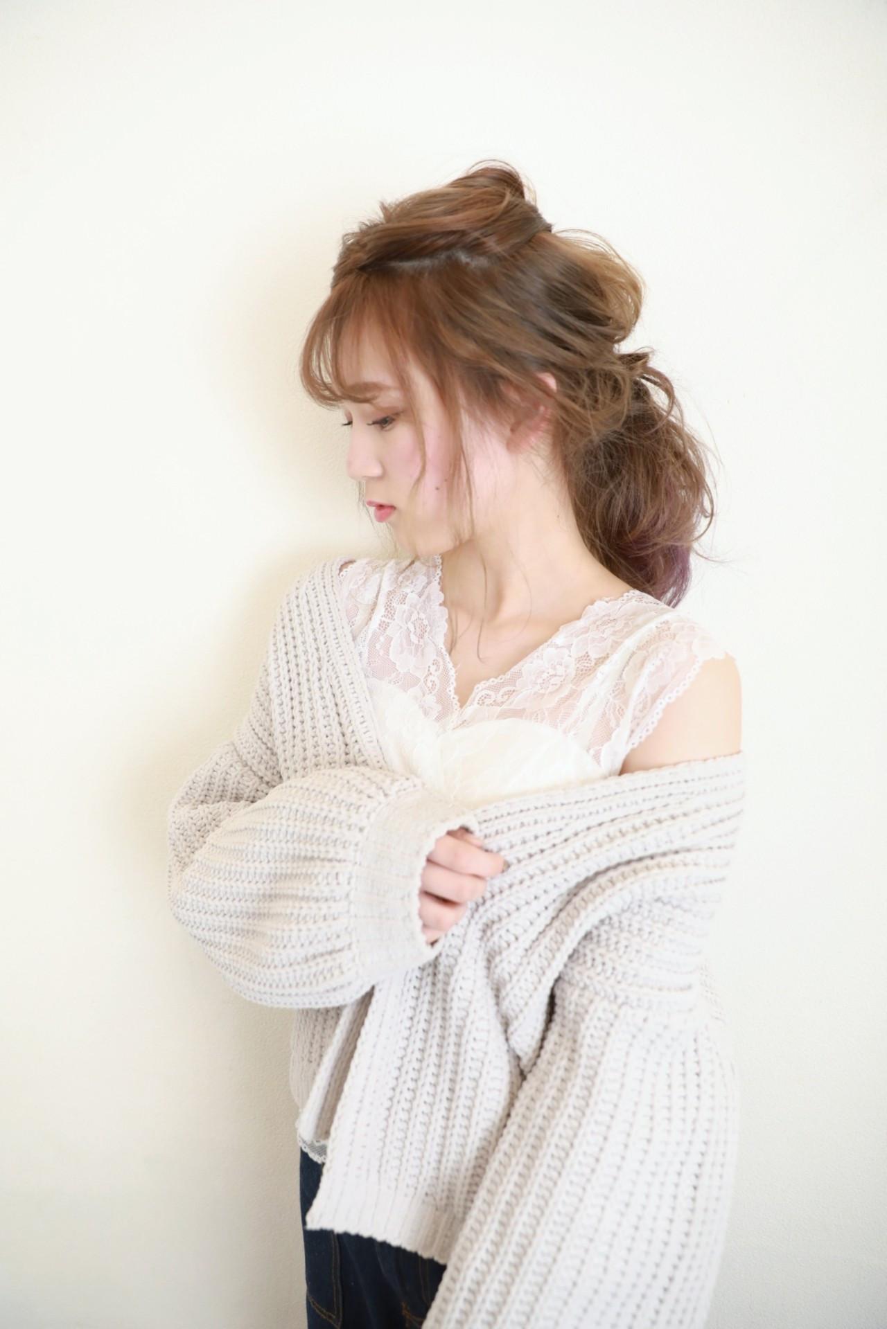 ゆるふわルーズな大人ポニーテール Naoko Miura | avant