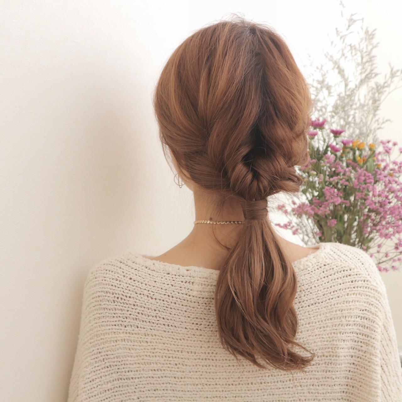 ガーリーに仕上がる、みつあみアレンジ ryota kuwamura | 函館/CALIF hair store/キャリフ ヘアストア