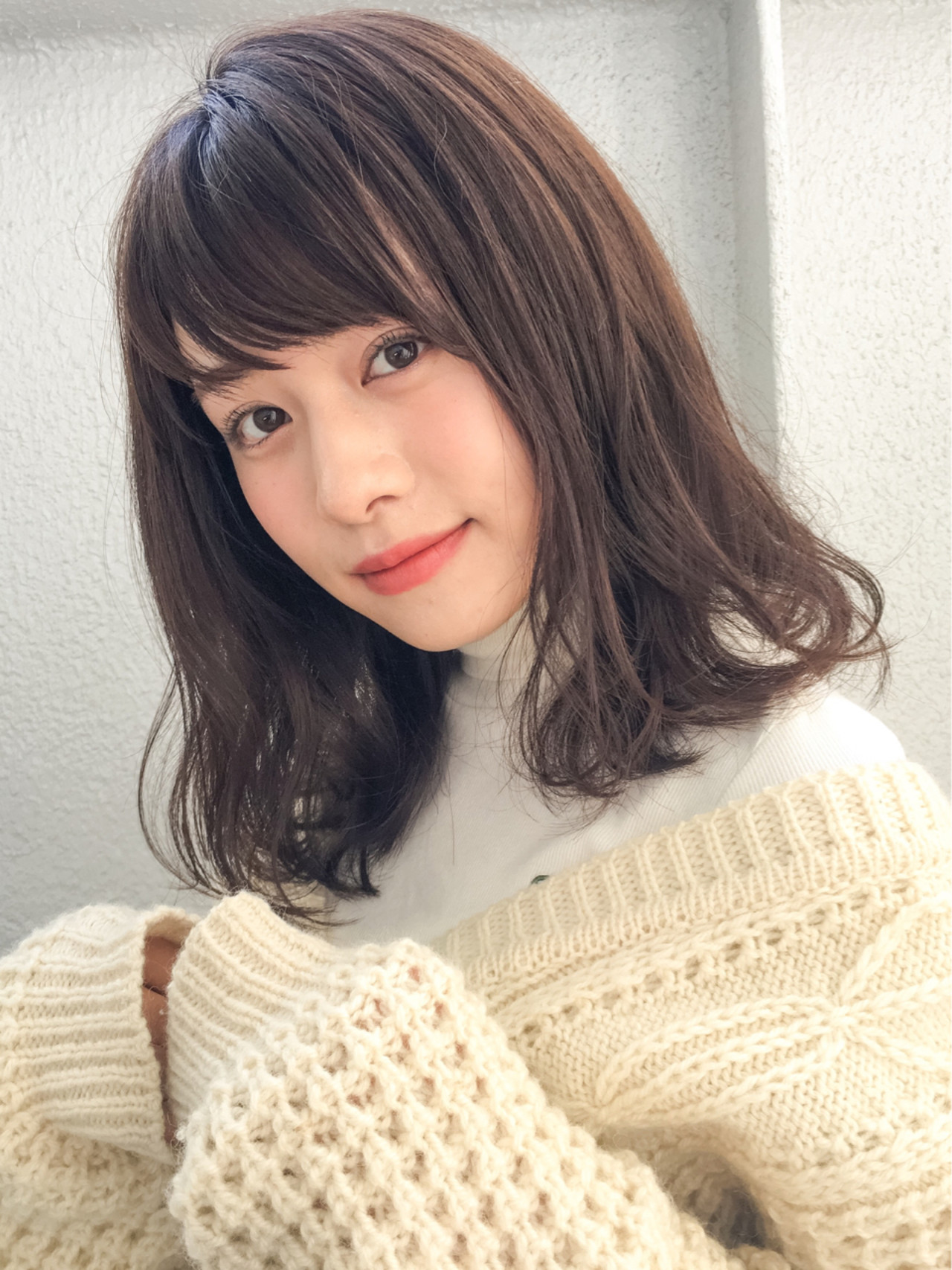 黒髪ではない暗色カラーは根強い人気! GARDEN harajyuku 細田