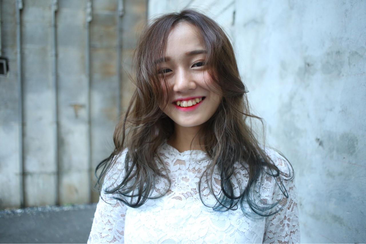ブルーアッシュなら秋冬にもぴったり! Rika Fuchigami | norikabeautyhairmake