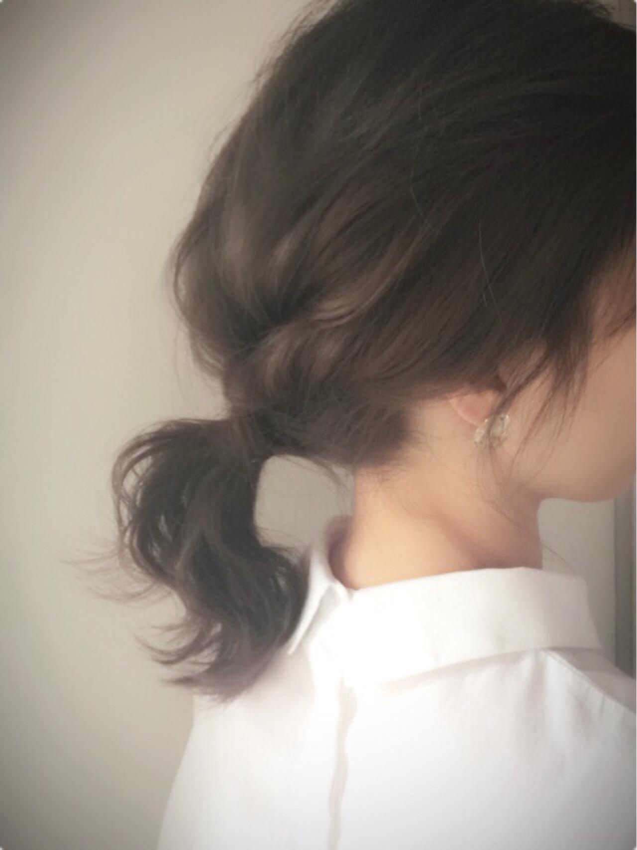 ルーズさがおしゃれ!大人アレンジ hair salon merci