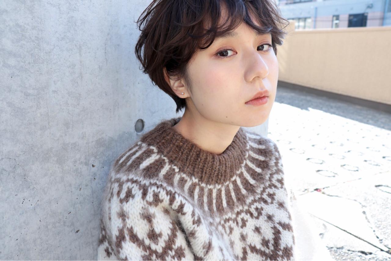 うねるタイプならパーマ風のショートヘアに♪ 井野 米子 | MELLOW