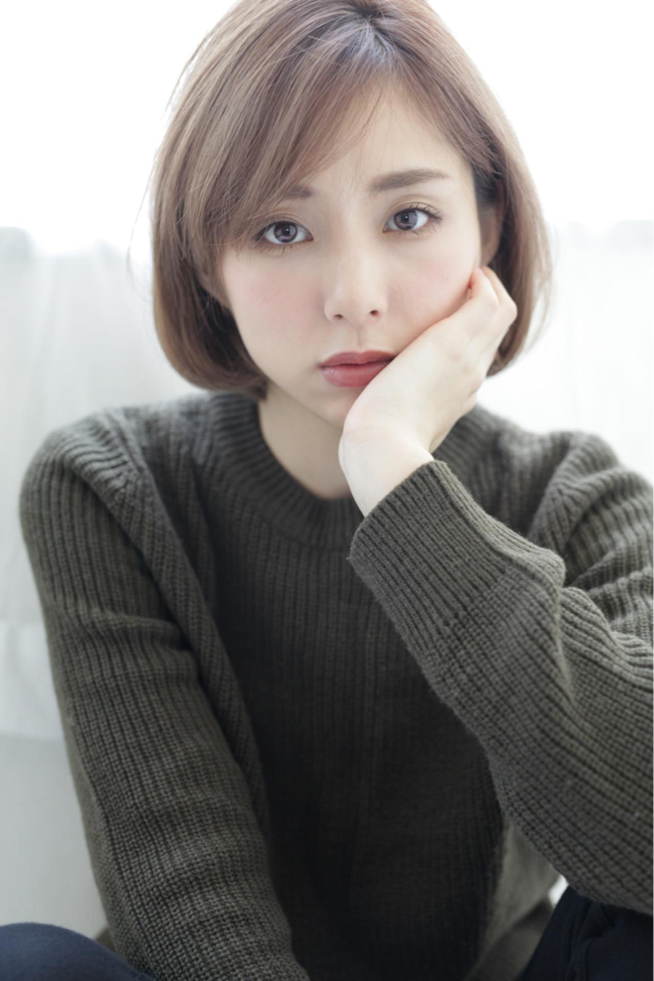 ショートボブならふわっとカワイイ♡ 石田 学史 | DISHEL