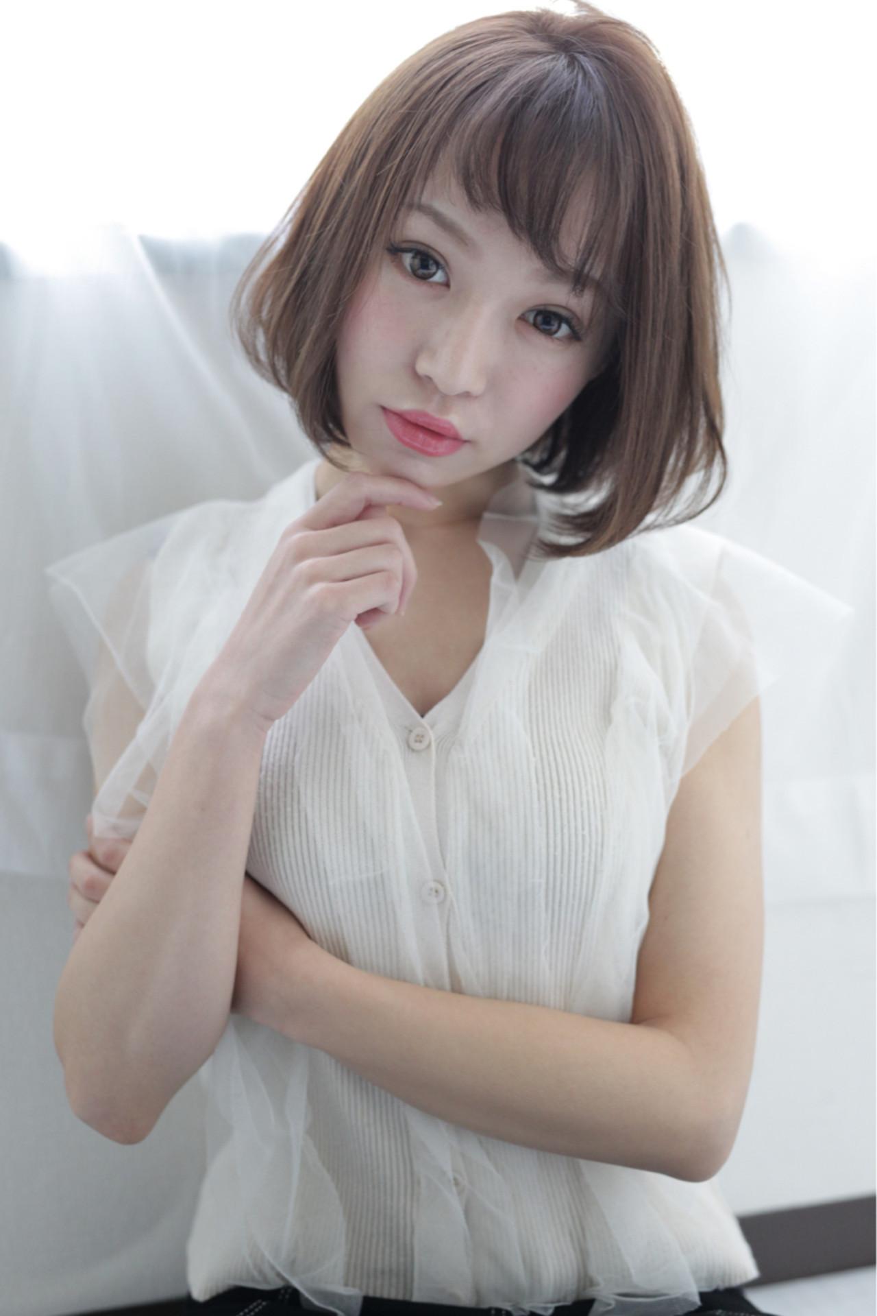 フェミニンでキュートな甘顔を作れる♪ 石田 学史 | DISHEL