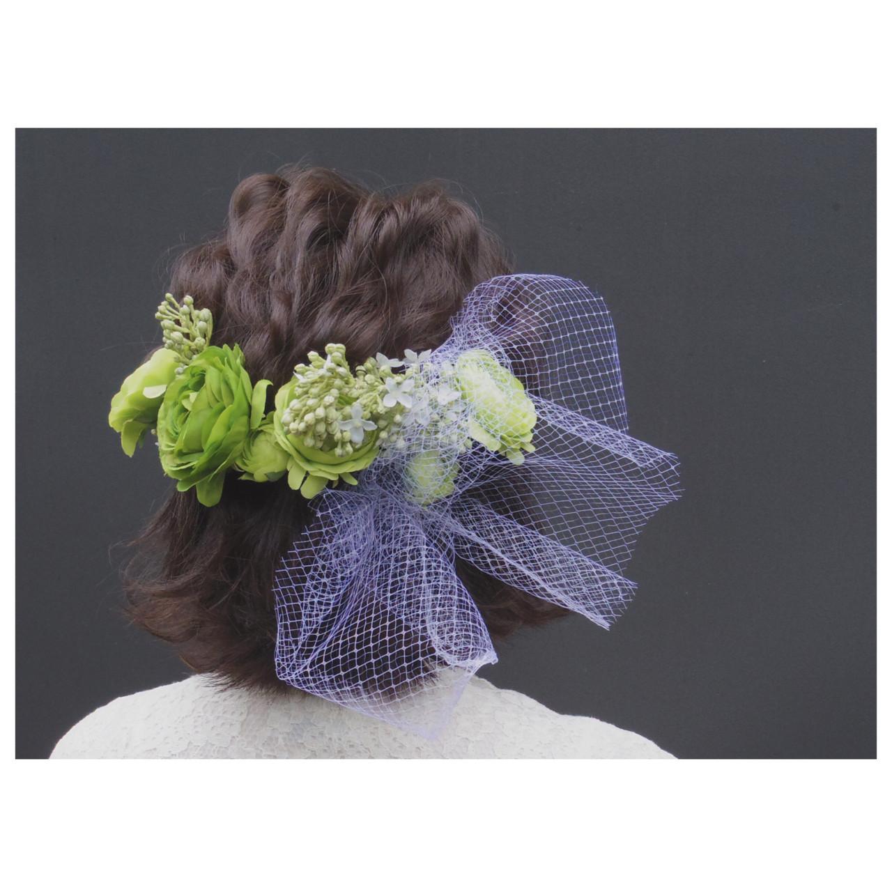 ショートヘア×花かんむりが可愛すぎる 秋山みき