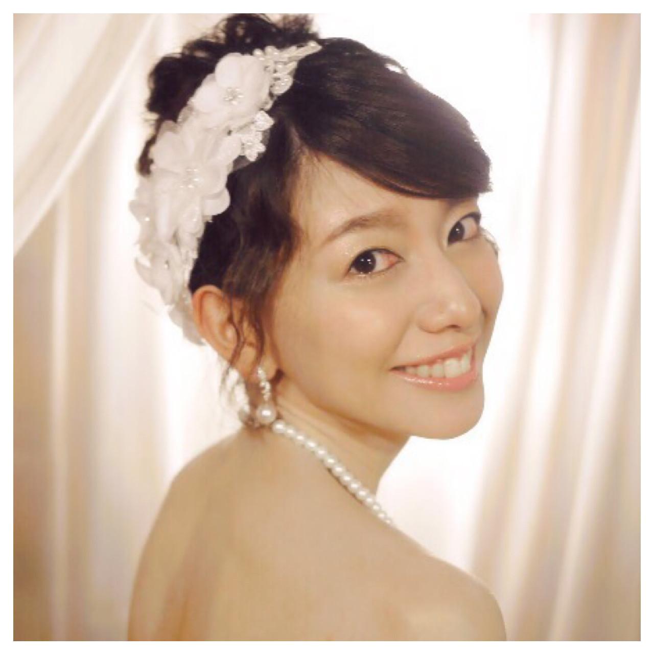 前髪が可愛い♡ベリーショートの花嫁 Poul.Le.Mieux