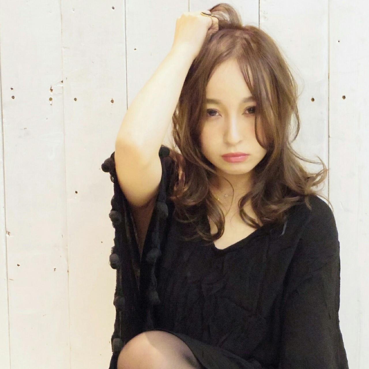 ヘアスタイルに合わせて前髪は選ぼう♪ KUMA | hair make PUR