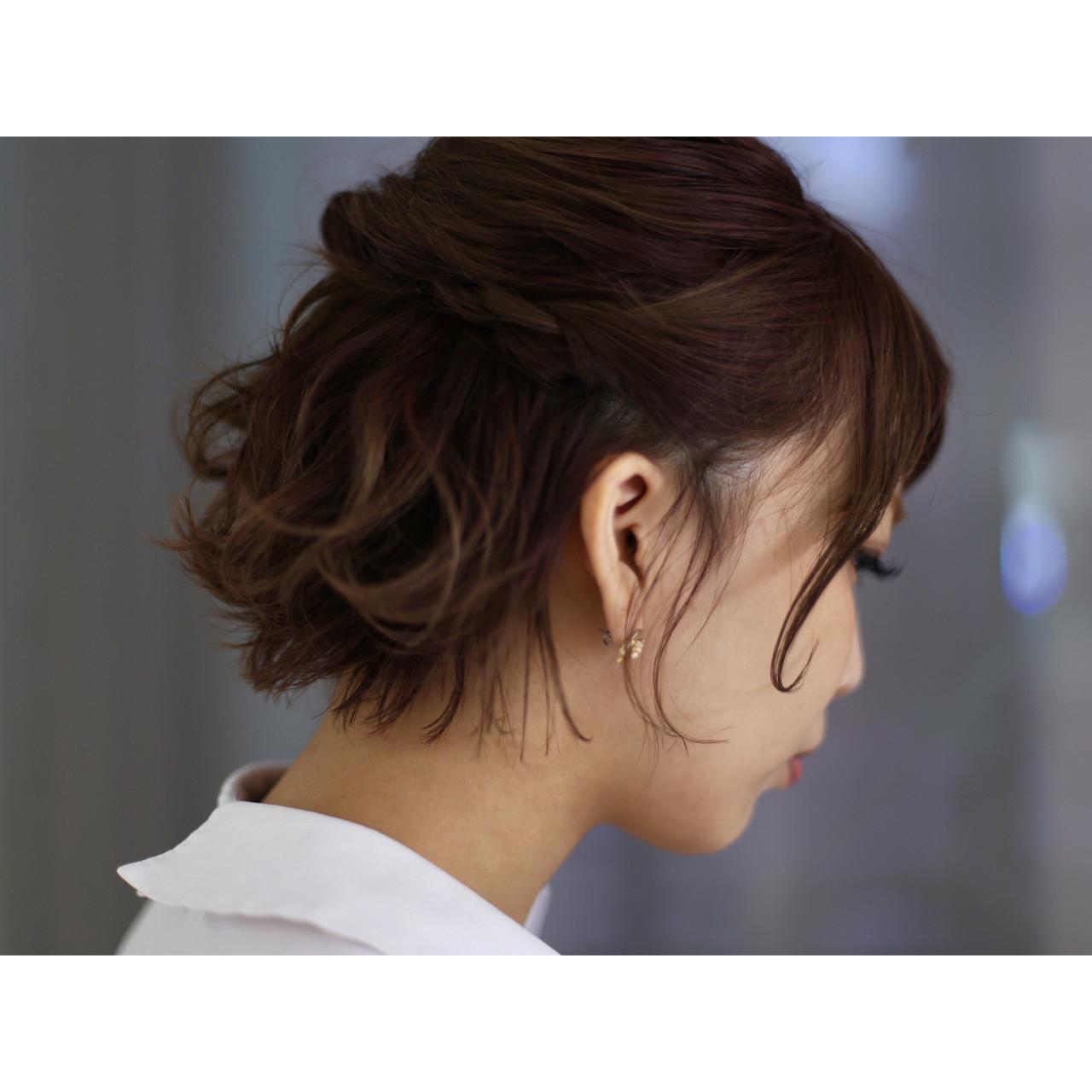 ハーフアップで大人可愛いヘアアレンジに toonoe naoki / yoha ku