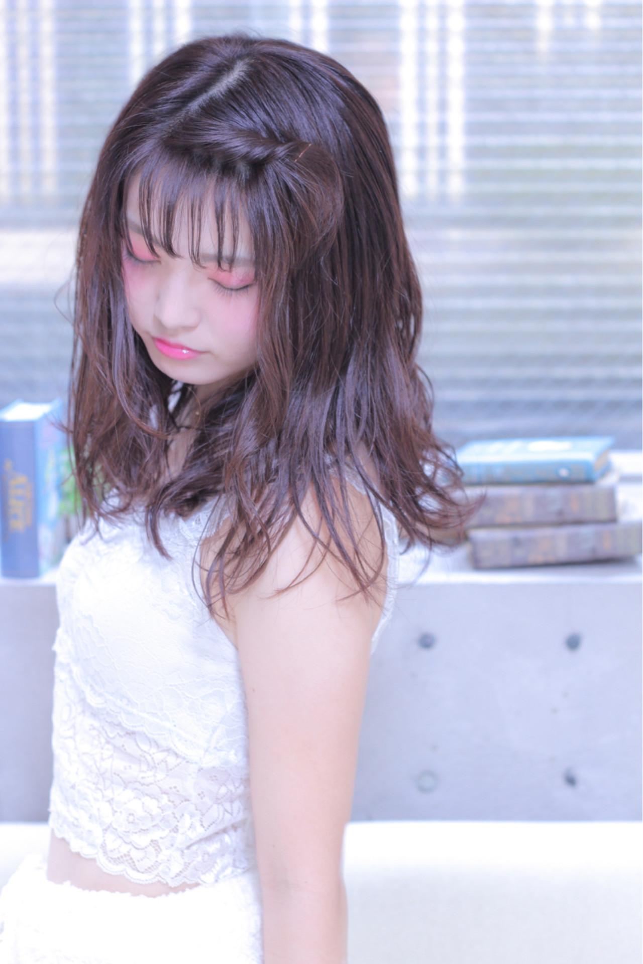 前髪が多い人に!ピンでシースルーバングづくり Wataru Maeda
