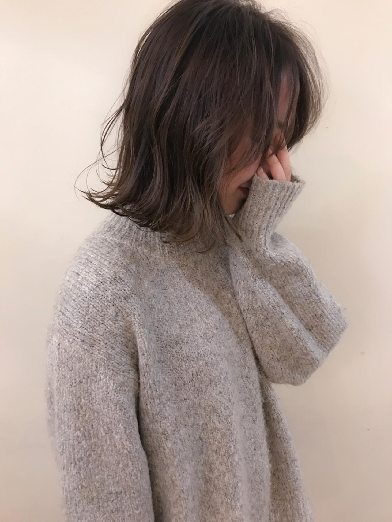 ざっくり巻いて、透明感のあるヌケ感をプラス yumiko/sapporoSKNOW | SKNOW