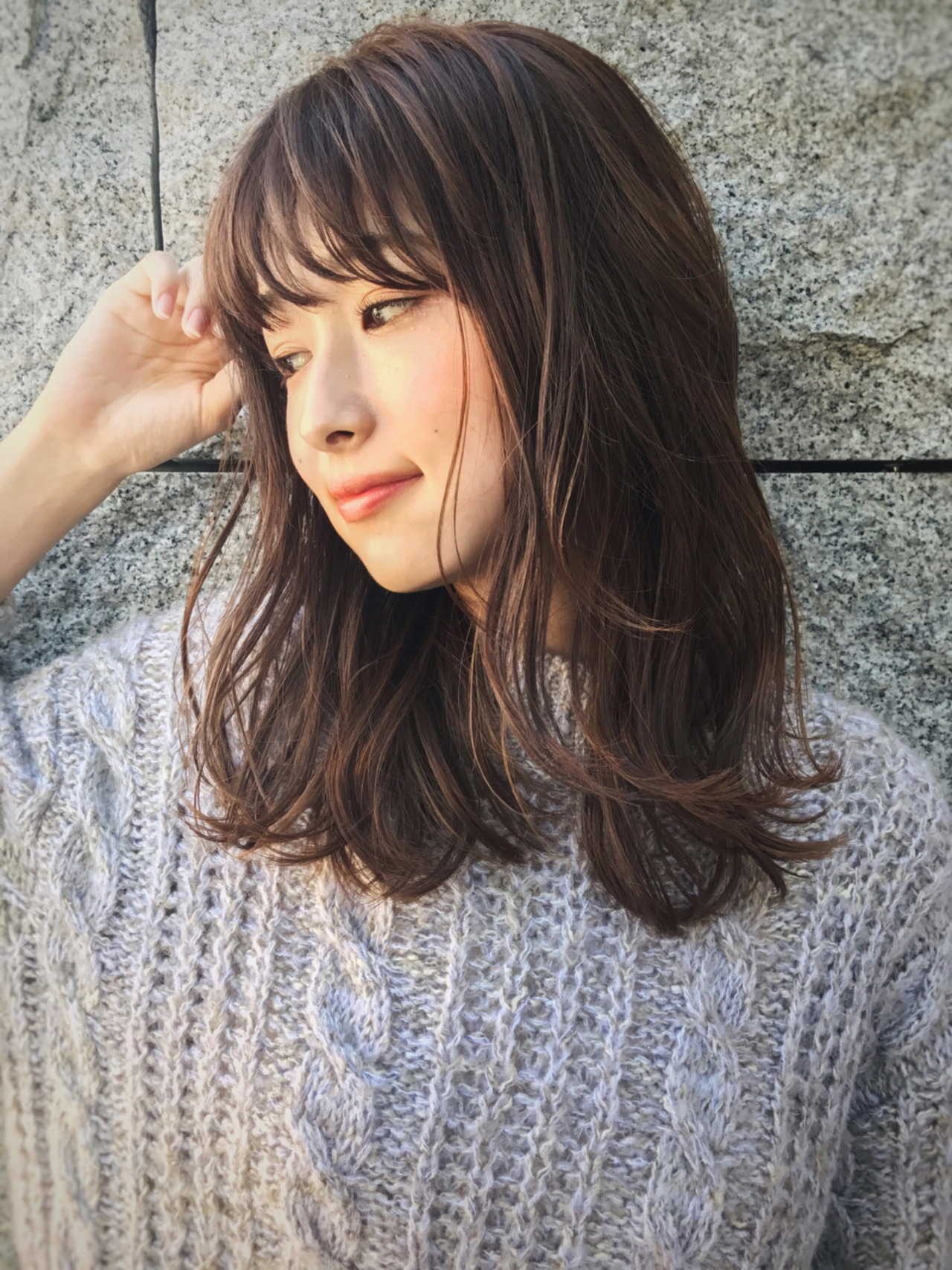 カーラーでつくるシースルーバングの巻き方♡ GARDEN harajyuku 細田