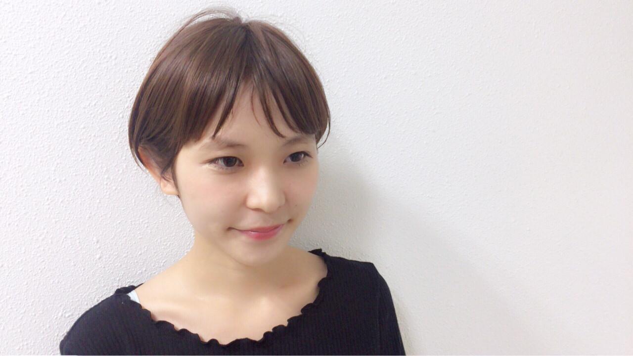 キュートに決めるならチョコレートアッシュ×マッシュ Taniguchi Yukiko | HEART